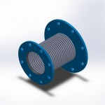 flanged with reducing flange