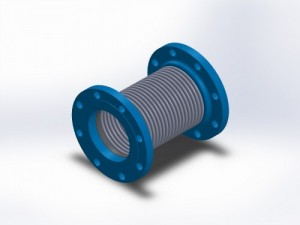 single bellows expansion joint