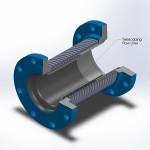 telescoping flow liner
