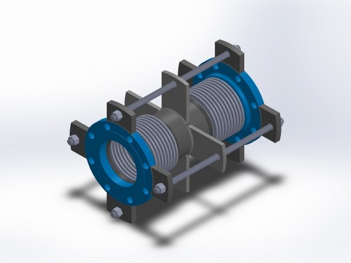 Universal bellows expansion joint dme joints
