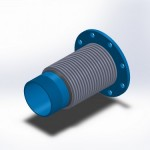 type 3 male NPT by flange