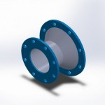 type 911 fixed flange x cone increasing fixed flange