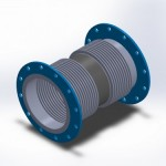 universal flanged integral center spool