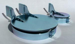 zinc plated rain cap