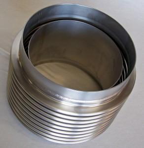 flow liner, bellows