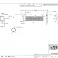 braided metal hose: DME supplies auto manufacturer