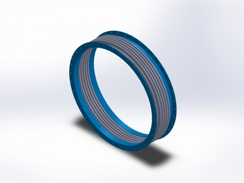 angle flange duct bellows - DME Expansion Joints