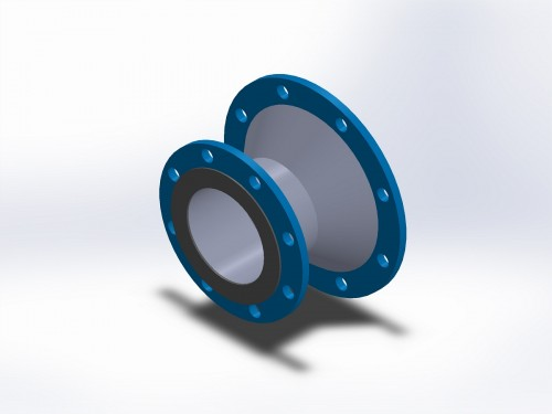 exhaust system adapters, type 912 floating flange x cone increasing fixed flange